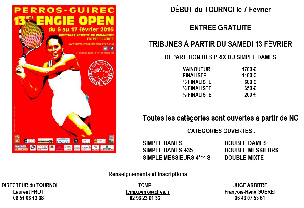 About Tournoi 2016