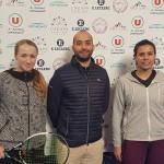 Diana Marcinkevica N12 contre Stéphanie Foretz N40